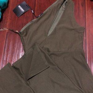 Missguided midi dress new